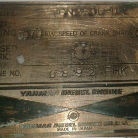 Yanmar 6N260L-UN