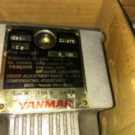 Yanmar NZ61 Govornor